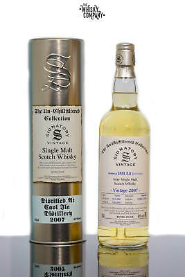 Signatory Vintage 2007 Caol Ila 9 Years Old Islay Single Malt Scotch Whisky (700