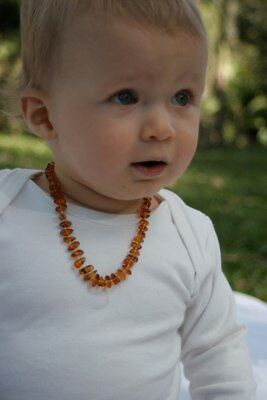 NEW Nature's Child Amber Necklace for Baby