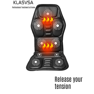 Massage chair -Heated Back Massage. Upper/Lower Back. Neck Massage. Car/Home Use