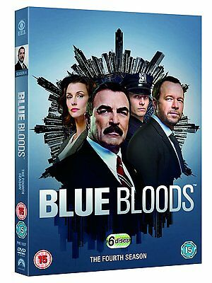 Blue Bloods . The Complete Season 4 . Tom Selleck . Donnie Wahlberg . 6 DVD NEU