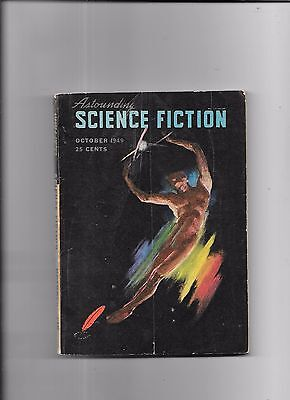 Astounding Science Fiction The Aristocrat By Chan Davis October 1949