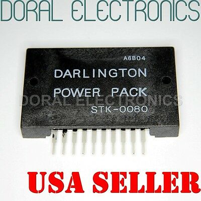STK0080 with Heatsink compound US SELLER Integrated Circuit IC Power Amplifier