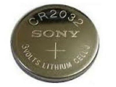 100-Pack CR2032 Sony 3 Volt Lithium Coin Cell Batteries