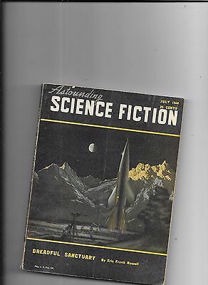 Astounding Science Fiction Dreadful Sanctuary By Eric Frank Russell July 1948