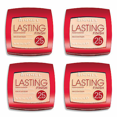 Rimmel Lasting Finish 25 Hr Waterproof Powder Foundation Ultra-lightweight 7g