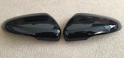 Gloss Black Wing Mirror Covers Vw Golf Mk6 Vi Touran Trim Caps Volkswagen