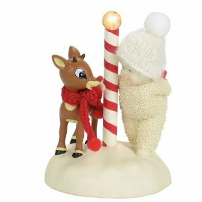 New Enesco, Snowbabies Guest Collection A Surprise For Rudolph
