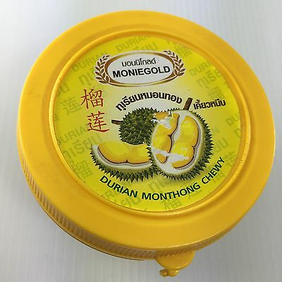 DURIAN CANDY Chewy Gummy Tasty Delicious Monthong Snack Yummy New 80g