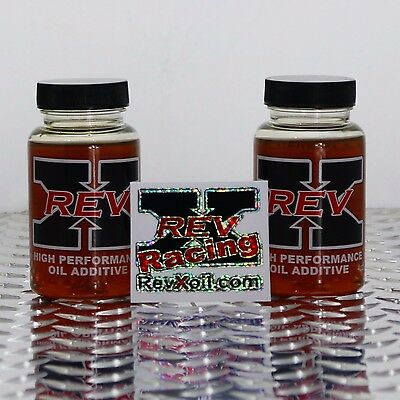 Rev-X Oil Treatment Ford Powerstroke 6.0L, 7.3L Diesel Stiction Fix +FREE DECAL