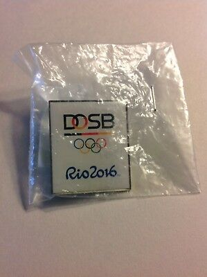 """2016 Rio Olympic """"GERMANY"""" NOC Pin, Dated"""