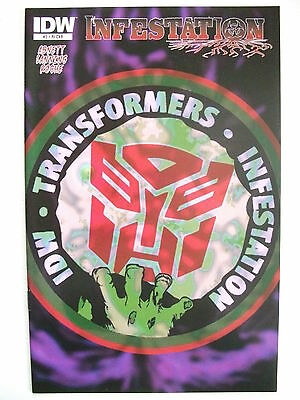 Transformers: Infestation # 2 (First Printing, R1 Incentive Cover, Feb 2011), Nm