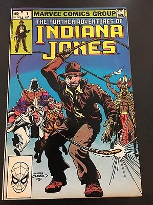 Further Adventures Of Indiana Jones #1 First Issue Marvel Bronze Age