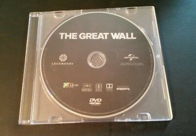 Brand New 2017 The Great Wall Regular Dvd Disc Only