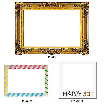 Frame Only Party Props Photo Booth Wedding Engagement Photography in 3 Designs
