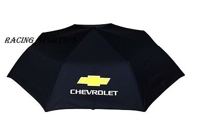 NEW CHEVROLET RACING Automatic Travel Umbrella Auto Open Close Compact Folding