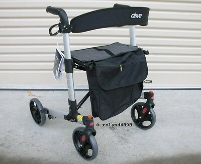 Drive Medical  X-FOLD Rollator Walker - NEW