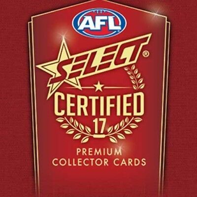 2017 Select AFL Certified Trading Card Pack - Premium Collector Cards