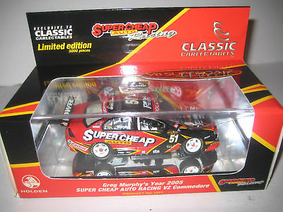1:43 Scale #51 Greg Murphy 2005 Super cheap Auto Holden VZ Commodore