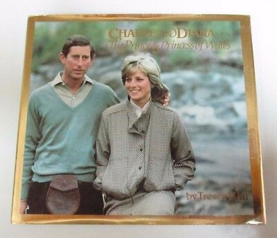 'Charles & Diana: The Prince & Princess of Wales' Book - by Trevor Hall - 1982