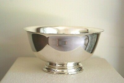 Paul Revere Solid Sterling Silver Bowl J.E. CALDWELL Excellent No Mono 777 grams