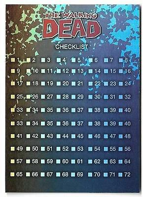 2013 Cryptozoic The Walking Dead Comic Trading cards Set 2 Foil #72