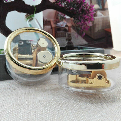 Circle Wind Up with Photo Frame Music Box ''Castle in the Sky ''