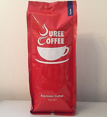 3 x 1 kg Supreme  Whole Roasted Beans + Free Grind