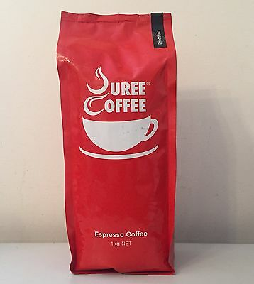 3 x 1 kg Premium  Whole Roasted Beans + Free Grind