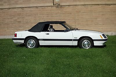 1985 Ford Mustang Convertible 1985 Ford Mustang 14,711 Documented Original Miles, 100% Stock Survivor!!!