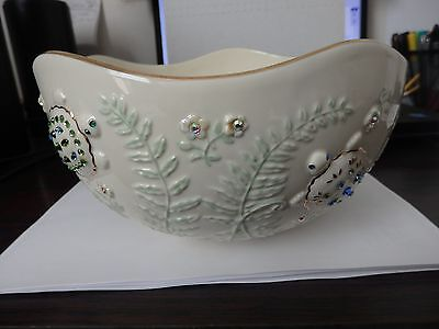 "Lenox The Jewels Of Nature Turtle Bowl 2004 MINT CONDITION 9"" DIAMITER"