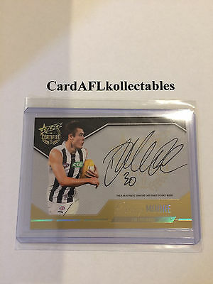 2017 AFL Select Certified Darcy Moore Certified Signature SCS8 Collingwood