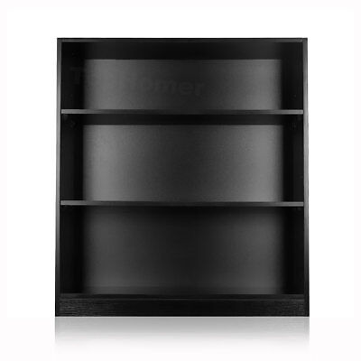 3 Tiers Adjustable CD/DVD Rack Display Shelf Storage Cupboard Cabinet Stand Unit