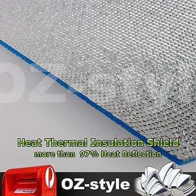 Double Foil Heat Radiant Insulation Shield ROOF WALL CEILING ATTIC Mat 15M2 ROLL