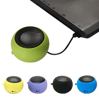 3.5mm Portable Speaker Stereo Mini Speaker Music MP3 Player For Tablet PCS Hot