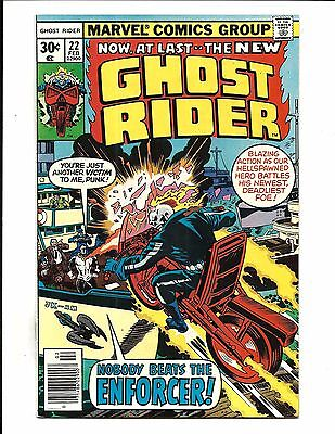 GHOST RIDER (Vol.1) # 22 (Cents Issue, FEB 1977), VF