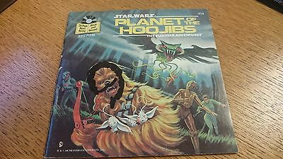 Star Wars Planet of the Hoojobs Book and Record (1983) #454R