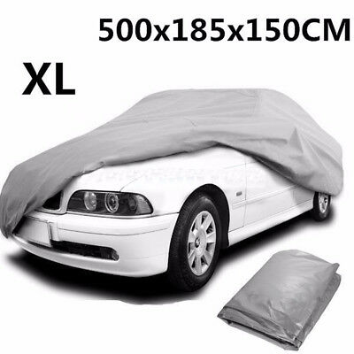 Waterproof Car Cover Outdoor Indooor Uv Protection Breathable Xl Extra Large