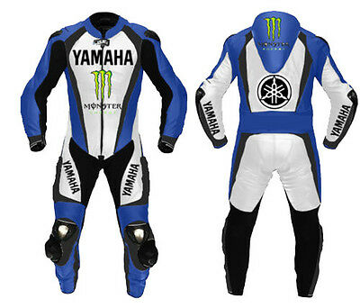 Yamaha Motorbike Leather Suit Moto Gp Racing Motorcycle Leather Jacket Trouser