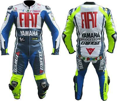 Yamaha Flat Motogp Motorbike Leather Suit Men Motorcycle Leather Jacket Trouser