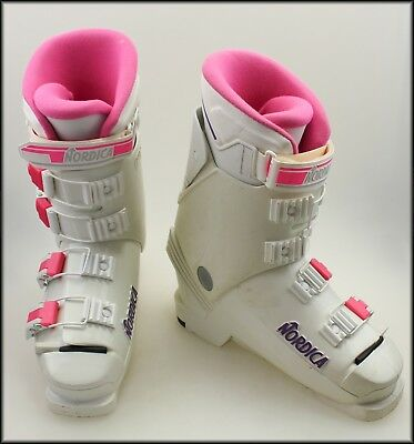 Nordica 581 Ski Boots Made In Italy Womans 7.5 To 8
