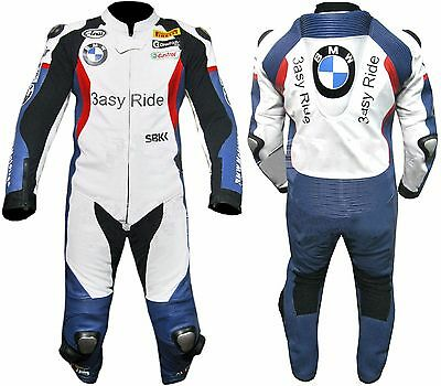 3Easy Bmw Motorcycle Leather Suit Moto Gp Motorbike Leather Jacket Trouser