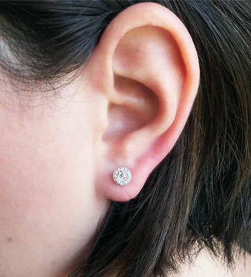 diamond karat earrings stud fresh son spiegel of two carat