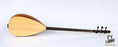 Turkish Professional Long Neck Carved Baglama Saz For Sale MSL-407
