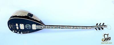 Special Long Neck Maple Electric Electro Baglama Saz SES-203B