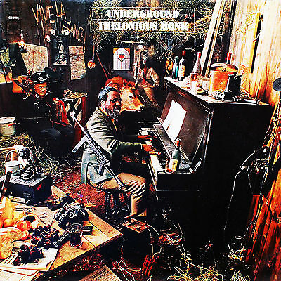 Thelonious Monk 02 (Underground) Album Front Cover Poster Print And Mugs