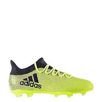 NEW adidas X 17.2 FG Football Boots - Yellow / Ink
