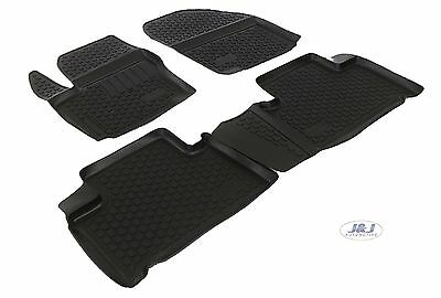 3D EXCLUSIVE TAPIS DE SOL EN CAOUTCHOUC pour  FORD GALAXY 2006- 2015 4pcs
