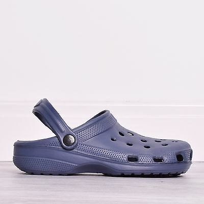 Mens Summer Casual Work Beach Holiday Pool Sandal Shoes Crocs Clog Size 6-11