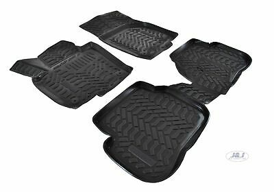 3D EXCLUSIVE TAPIS DE SOL EN CAOUTCHOUC pour VW PASSAT B6 2006-2015 break 4pcs