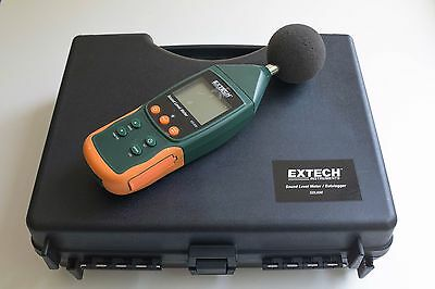 Extech SDL600 Sound Meter Sd Logger , Mint, includes carrying case + accesories